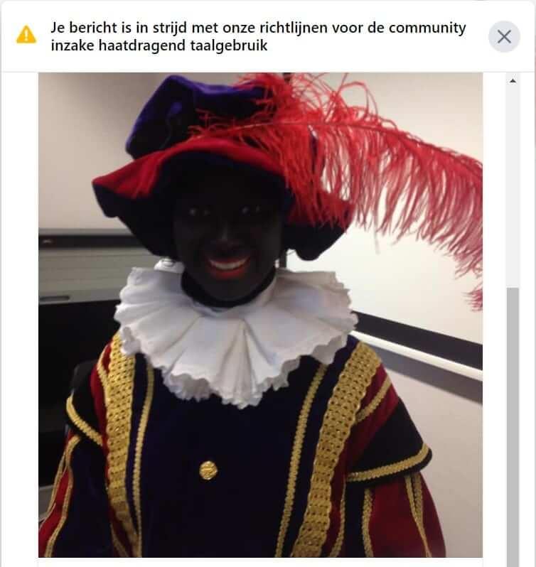 Facebook Discrimineert Onze Nederlandse Traditie