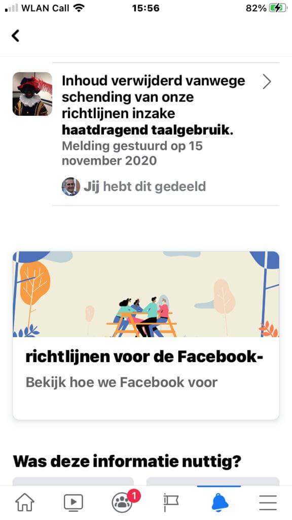 Facebook Dreigt Ons Account Te Verwijderen