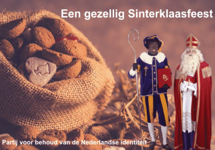 #PVBNI Wenst Nederland Een Oergezellig Sinterklaasfeest